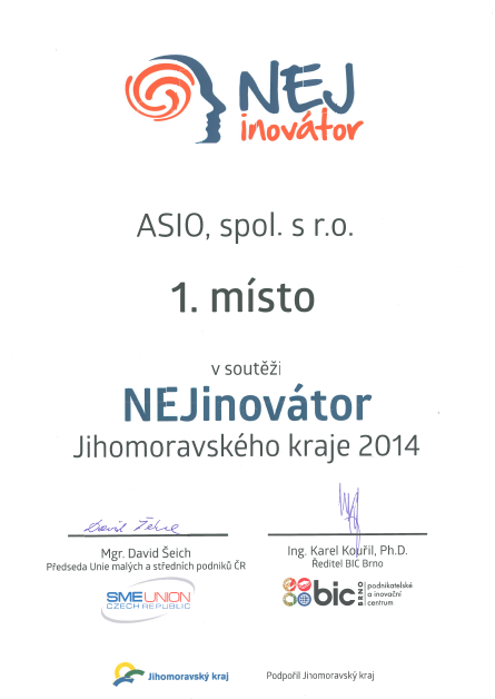 ASIO innovative company
