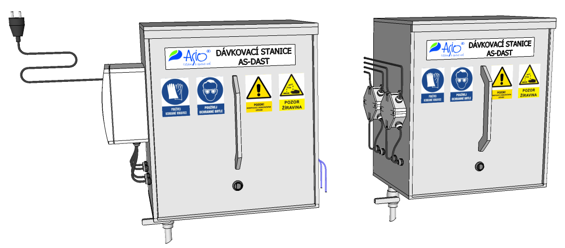 automated dosing station - AS-DAST